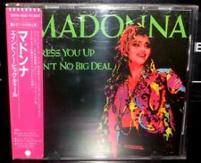 MADONNA DRESS YOU UP JAPAN 1ST PRESS CD AIN'T NO BIG DEAL SHOO-BEE-DOO