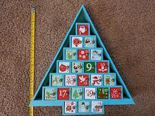 Michael's Wooden Advent Calendar Christmas Tree Prize