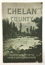Chelan County Washington Real Estate Land Advertising Brochure Wenatchee 1905