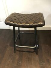 50cm Leather Stool