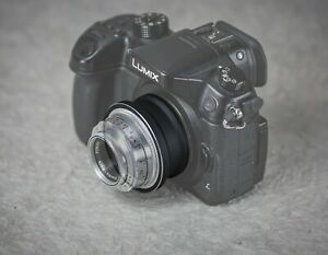 M39 Braun Paxette Lens to Micro Four Thirds M4/3 Adaptor. Focusing From Infinity