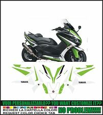 kit adesivi stickers compatibili tmax 2012 2014  530 green hope