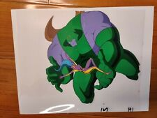 Jim Lee WILDCATS MAUL + VOODOO Cartoon Animation Cel + Pencil Drawing + COA