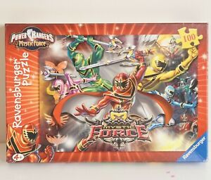 Power Rangers Mystic Force Ravensburger 100 Piece Puzzle COMPLETE