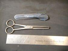 Vintage S.R. Droescher SRD USA no. 145 Taper hair scissors