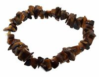 Tiger Eye Gemstone chip bracelet