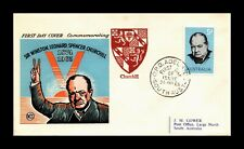 DR JIM STAMPS SIR WINSTON CHURCHILL FIRST DAY ISSUE AUSTRALIA COVER