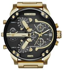 Reloj DIESEL DZ7333 Mr Daddy 2.0 Hombre Cronografo Acero Inoxidable Dorado Watch
