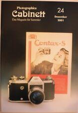 Photographica Cabinett 24 Contax S M42 Korelle Finetta Leica Retina Rolleiflex