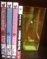 The Record of a Fallen Vampire 1-3, The Dark Hunters 1, Lot of 4 Shonen Manga
