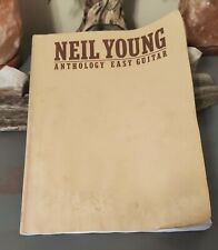 Neil Young Anthology Easy Guitar Book from 1979