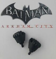 1/6 Hot Toys Arkham City Batman VGM18 Pair of Fists + Pegs *US Seller*