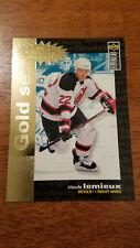 NEW JERSEY DEVILS CLAUDE LEMIEUX 1995-96 UD CC YOU CRASH THE GAME GOLD SET #C28
