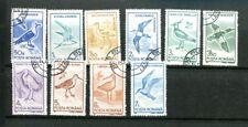 Motiv Vögel Ausgabe Rumänien 1991 kompletter Satz Michel Nr. 4642-51
