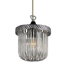 Traditional Clear Acrylic Traditional Easy Fit Pendant Light Shade