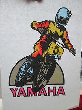 Yamaha Moto Dirt Bike T-shirt  original iron on transfer for Tee vintage   #9