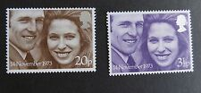 GB Great Britain 1973 Royal Wedding princess Anne MNH UM unmounted mint