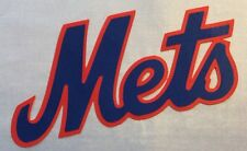"NEW YORK METS IRON-ON PATCH - 4"" x 7"""