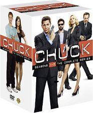 CHUCK COMPLETE SERIES 1-5 DVD BOX SET SEASONS 1 2 3 4 5 NEW UK REGION 2 RELEASE