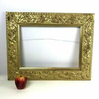 Antique Victorian Picture Frame Gold