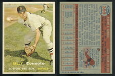 (48120) 1957 Topps 399 Billy Consolo Red Sox-EM