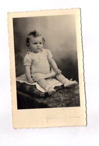 CPA Carte postale ancienne (enfant à identifier)