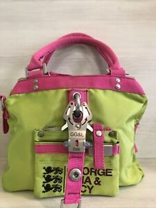 George Gina&Luci Pre-Perfect cotton handbag