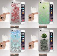 Coque Pour , Samsung, Oriental, Silicone, Doux, Transparent, Mystic, Motif