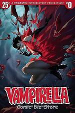 VAMPIRELLA #0  (2017) TAN COVER A 1ST PRINTING DYNAMITE