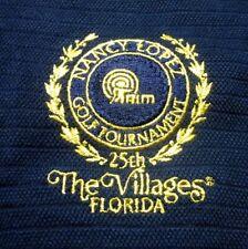 NANCY LOPEZ Golf Tournament lrg NWT polo shirt Villages embroidery Florida 25th