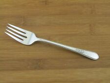 "International Adoration Salad Dessert Fork 6 3/4"" 1847 Rogers Silverplate Glossy"