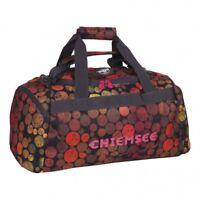 CHIEMSEE Sport Matchbag Medium Tasche Sporttasche Umhängetasche Dots Schwarz Rot