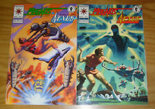 Magnus Robot Fighter & Nexus 1-2 VF/NM complete series mike baron steve rude set