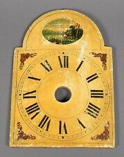 Altes Zifferblatt f Schwarzwalduhr Wanduhr Uhrmacher clock black forest dial
