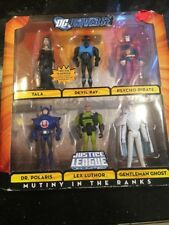 Dc Universe Justice League Unlimited Mutiny in the Ranks 6 Pack New Sealed