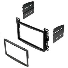 DOUBLE 2 DIN CAR STEREO RADIO CD DVD PLAYER DASH INSTALLATION MOUNTING TRIM KIT