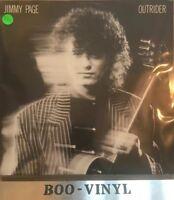 Jimmy Page vinyl LP album record Outrider UK WX155 GEFFEN 1988 Ex+ Con