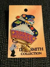Disney World Dave Smith Collection Pin Space Mountain LE of 2000