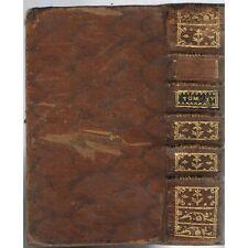 Commentaire sur la Sainte BIBLE Paralipomènes Esdras Job de De CARRIÈRES 1741 T4