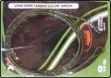 Ready Made 90cm Leadcore Leader Carp Fishing Rig - Green