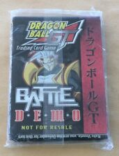 Dragonball Z GT Trading Card Game Battle Demo (Not For Resale) NIP