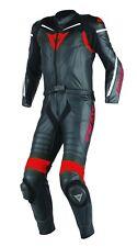 Dainese - mono de piel laguna seca D1 2pcs Suit negro gris rojo 50