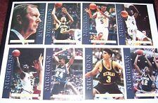 1992-93 University of Michigan Basketball Team Set - JUWAN HOWARD CHRIS WEBBER