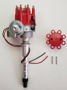 CHEVY 348 409 BIG BLOCK Ready-To-Run RED Small Cap HEI Distributor