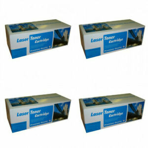 FULL SET OF 4 Compatible Toner Cartridges for XEROX PHASER 6180DN Printer