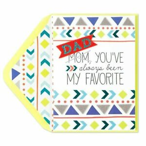 Humorous Papyrus Father's Day card - Dad, You've Always Been my Favorite -FELT!