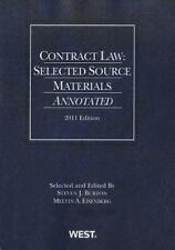 Selected Statutes: Contract Law : Selected Source Materials Annotated 2011 by...