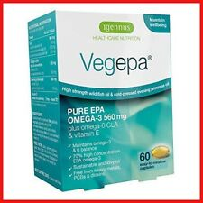 Vegepa Omega-3-6 Essential Fatty Acids, Wild Fish Oil & Evening Primrose Oil