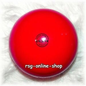 RSG Ball JUNIOR BALL Gymnastikball ROT Lack 150-170mm 300g NEU!