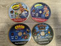 3  Crash Nitro Kart 1 ratchet clank See Pictures of Titles GAMES ONLY